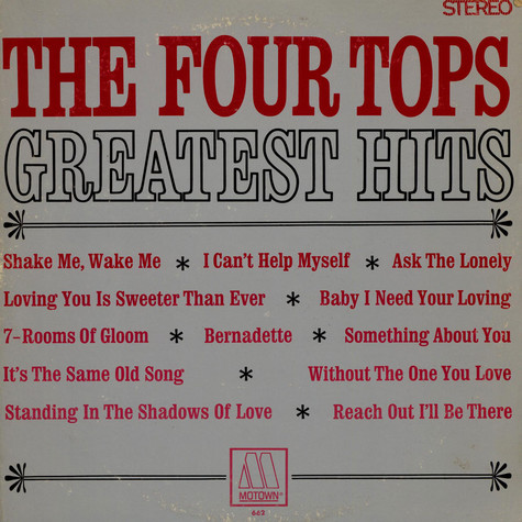 Four Tops - Four Tops Greatest Hits