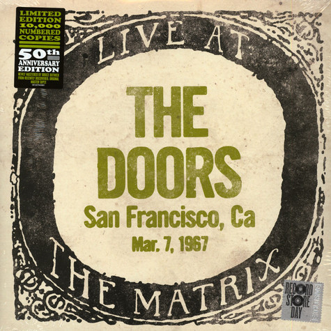 Doors, The - Live At The Matrix, San Francisco, March 7 1967