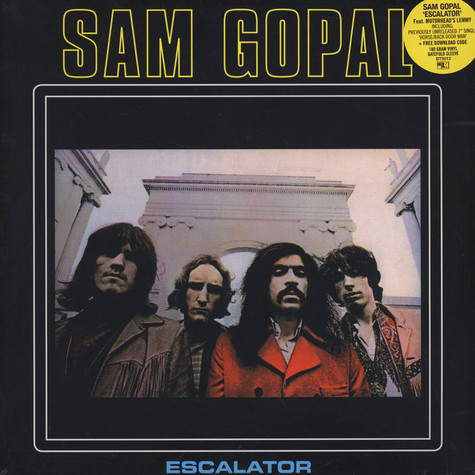 Sam Gopal - Escalator Black Vinyl Edition