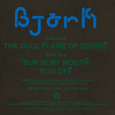 Björk - The Dull Flame Of Desire