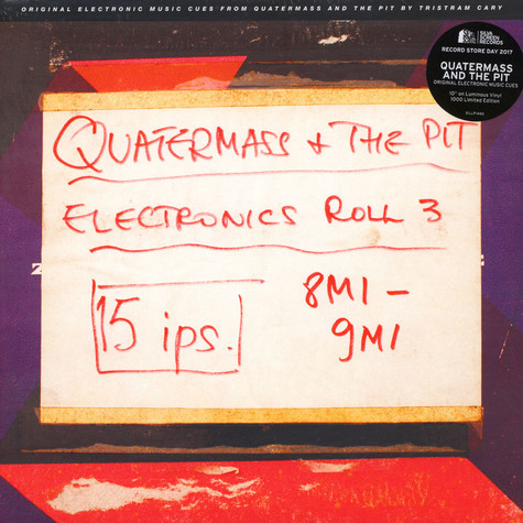 Tristram Cary - OST Quatermass And The Pit - Electronic Cues