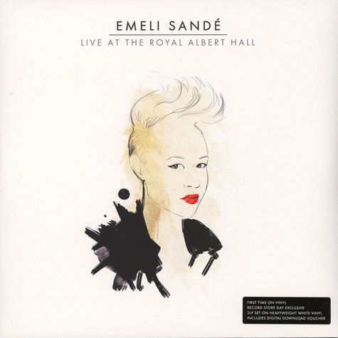 Emeli Sandé - Live At The Royal Albert Hall White Vinyl Edition