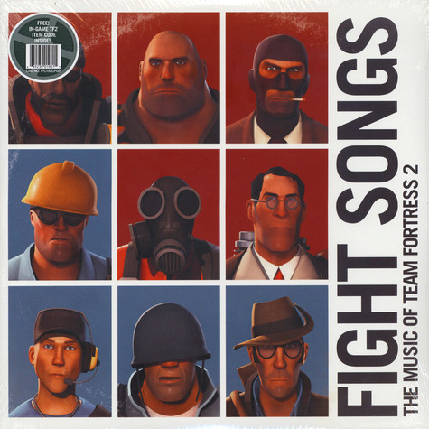 Valve Studio Orchestra - Fight Songs: The Music Of Team Fortress 2 Grey Vinyl Edition