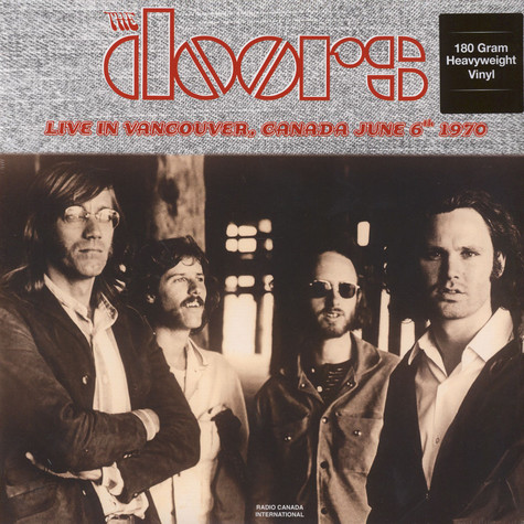 Doors, The - Live in Vancouver CAD, June 6th 1970