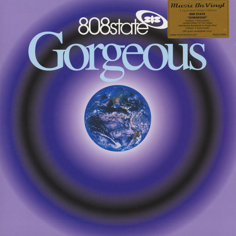 808 State - Gorgeous Purple Vinyl Edition