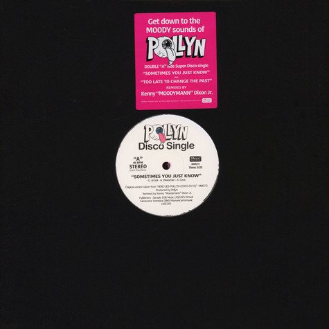 Pollyn - The Moodymann Remixes Pink Vinyl Edition