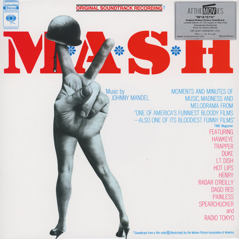 Johnny Mandel - OST M*A*S*H Red Vinyl Edition