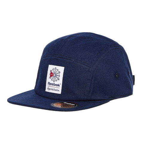 Reebok - Classic Foundation 5 Panel Cap (Collegiate Navy)  f594ebb8dea