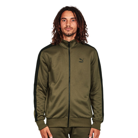 b42ef74fba6a Puma - Archive T7 Track Jacket (Olive Night)