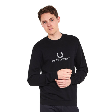 Fred Perry - Monochrome Tennis Sweater
