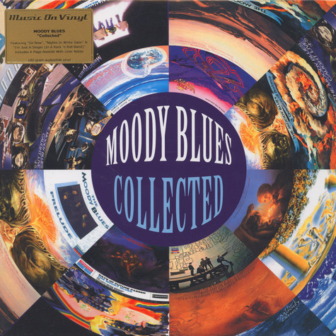 Moody Blues - Collected Black Vinyl Edition