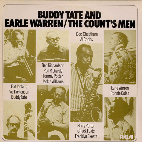 Buddy Tate & Earle Warren - The Count's Men