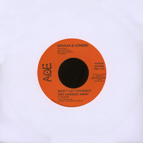 Doulas & Lonero - This Time / Don't Let Yourself Get Carried Away