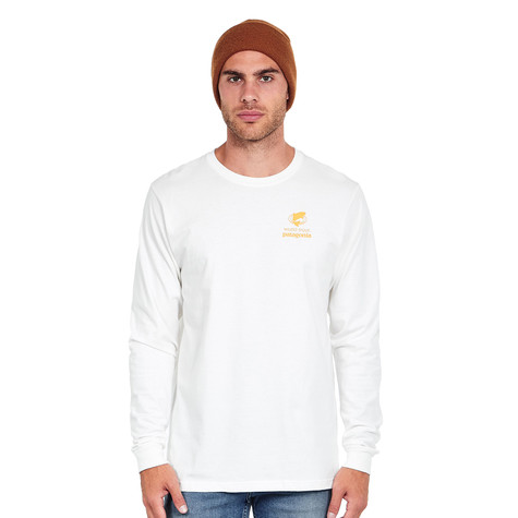 Patagonia - Long-Sleeved Eye of Brown World Trout Cotton T-Shirt