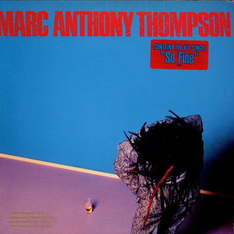 Marc Anthony Thompson - Marc Anthony Thompson