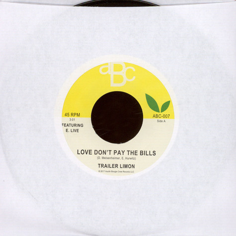 Trailer Limon - Love Don't Pay The Bills Feat. E-Live / Dancing With Somebody Feat. B-Bravo