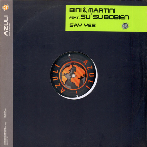 Bini & Martini - Say Yes