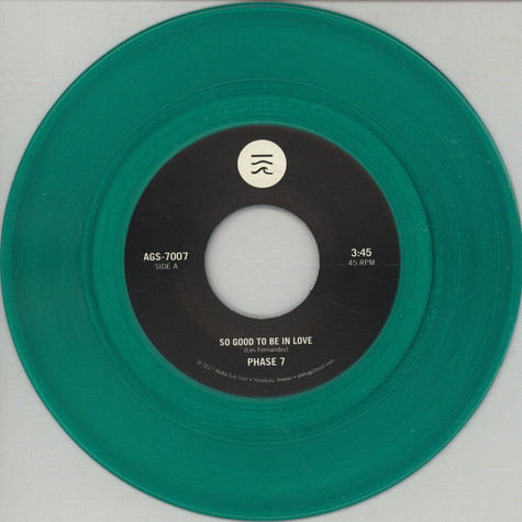 Phase 7 - So Good To Be In Love / Could It Be Love Colored Vinyl Edition