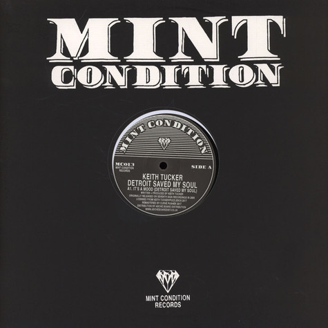 Keith Tucker - Detroit Saved My Soul