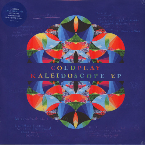 Coldplay - Kaleidoscope EP Colored Vinyl Edition
