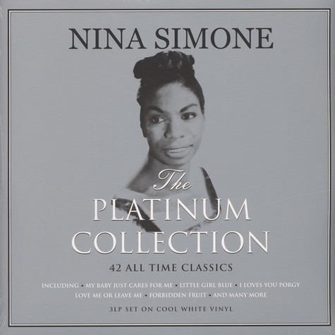 Nina Simone - Platinum Collection On Cool White Vinyl