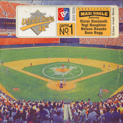 """V.A. - Imperial Records World Series 12"""" Game No. 1"""