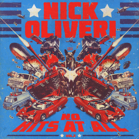 Nick Oliveri - N.O. Hits At All Volume 2 Black Vinyl Edition