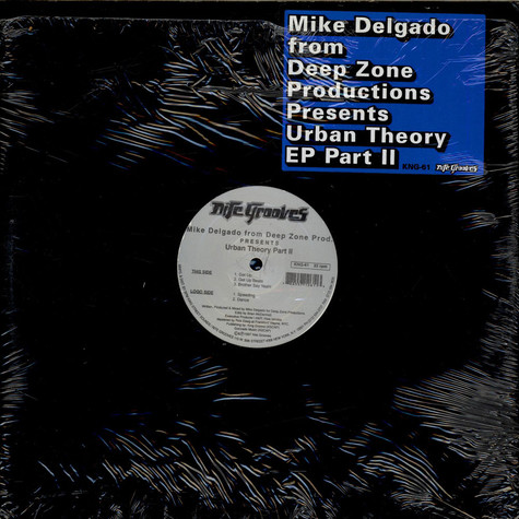 Mike Delgado From Deep Zone - Urban Theory Part II