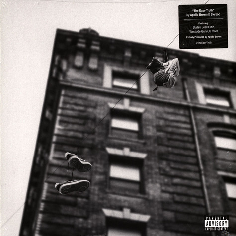 Apollo Brown & Skyzoo - The Easy Truth Gold Marble Vinyl Edition