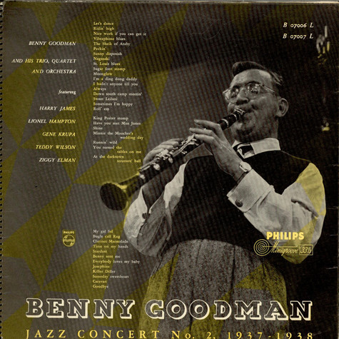 Benny Goodman - 1937-38 Jazz Concert No. 2