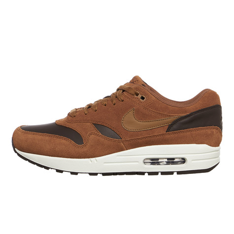 finest selection 975c4 48d5a Nike. Air Max 1 Premium Leather (Ale Brown ...