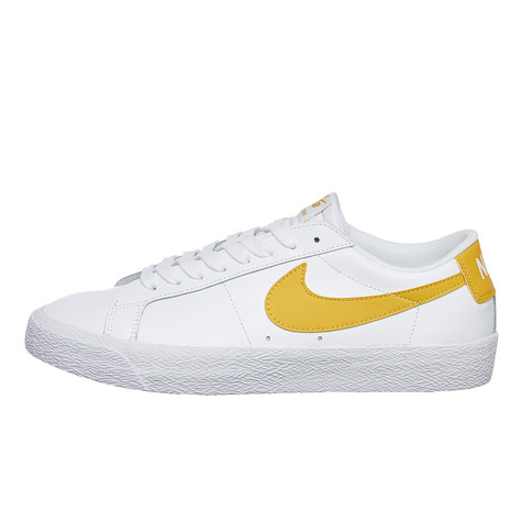 Nike SB - Zoom Blazer Low (White   Mineral Gold)  12a61394c