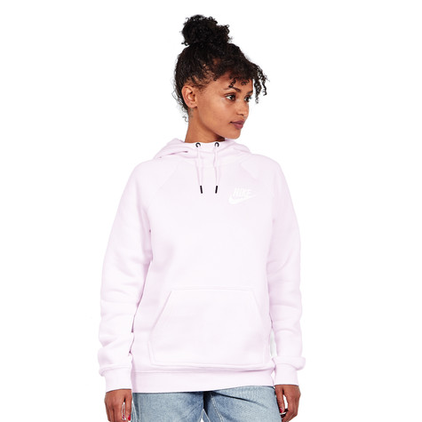 7982e302d75 Nike - WMNS Sportswear Rally Hoodie (Pearl Pink   Pearl Pink   White ...