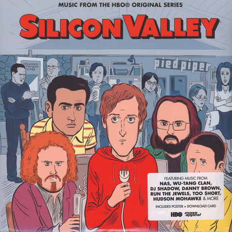 V.A. - OST Silicon Valley: The Soundtrack Colored Vinyl Edition