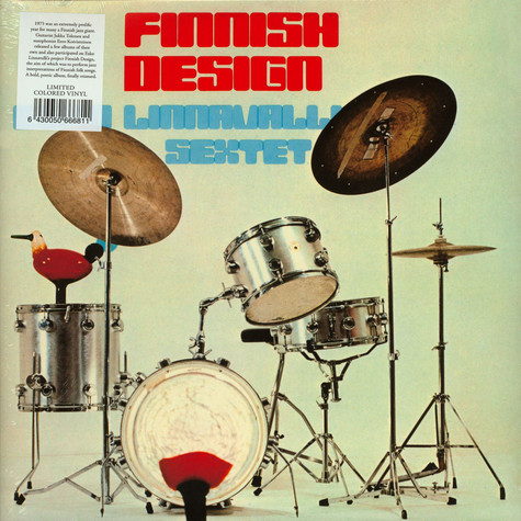 Esko Linnavalli Sextet Red Vinyl Edition - Finnish Design