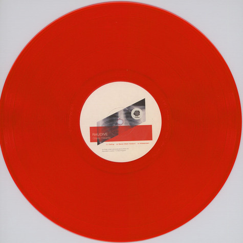Raudive - Glass Hearts Red Vinyl Edition