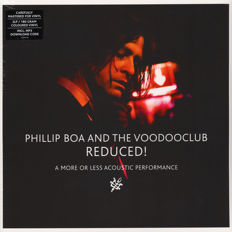 Phillip Boa & The Voodooclub - Reduced! (A More Or Less Acoustic Performance) Colored Vinyl Edition