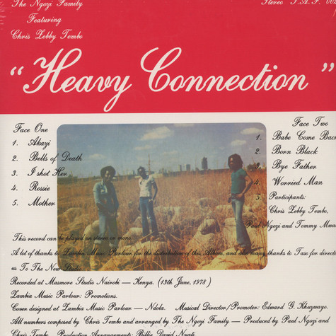 Ngozi Family - Heavy Connection