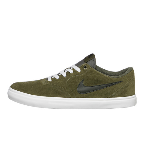 e055cd74774c Nike SB - Check Solarsoft (Medium Olive   Sequoia   Summit White ...