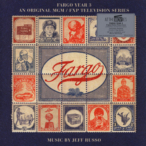 Jeff Russo - OST Fargo (TV Series) Season 3 Colored Vinyl Edition
