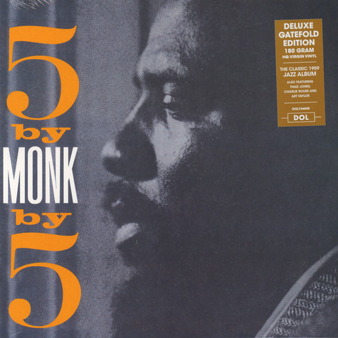 Thelonious Monk - 5 By 5 By Monk Gatefold Sleeve Edition