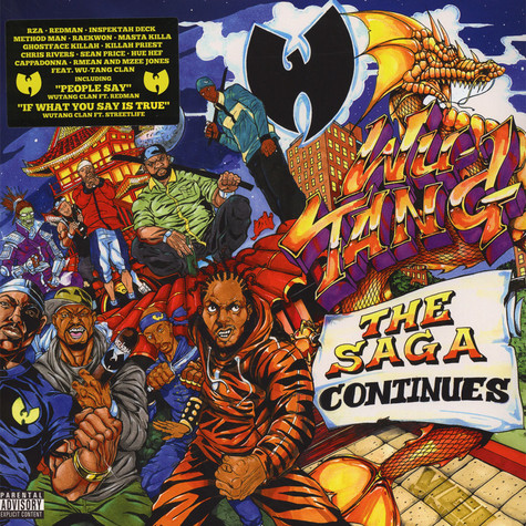 Wu-Tang Clan - The Saga Continues Purple Vinyl Edition