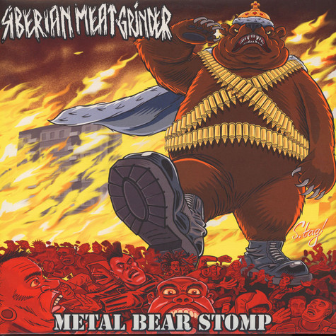 Siberian Meat Grinder - Metal Bear Stomp Colored Vinyl Edition