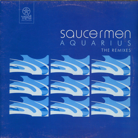 Saucermen - Aquarius (Remixes)