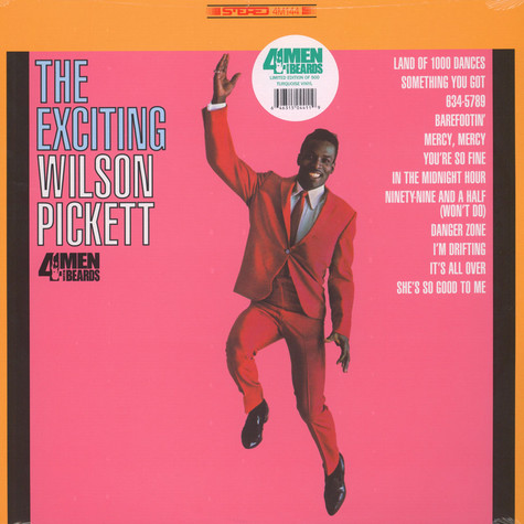 Wilson Pickett - The Exciting Wilson Pickett Turquoise Vinyl Edition