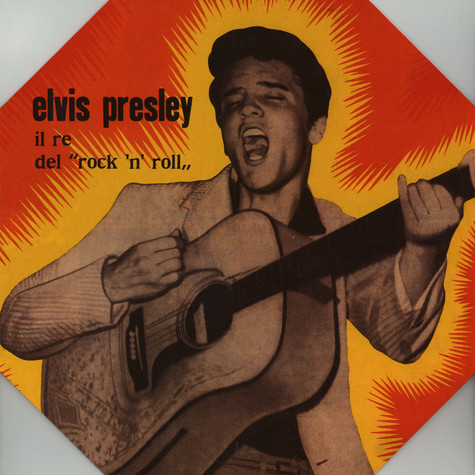 Elvis Presley - Il Re Del Rock'n'Roll Italian EP