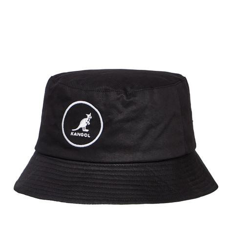 1f458aff22f Kangol - Cotton Bucket Hat (Black)