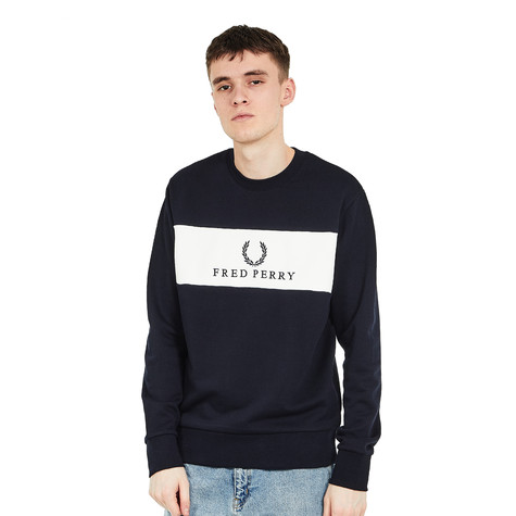 Fred Perry - Panel Embroidered Sweat