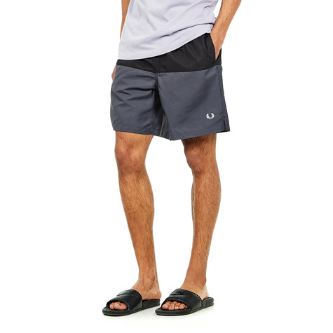 774fd54155 Fred Perry - Panelled Swimshort (Charcoal) | HHV