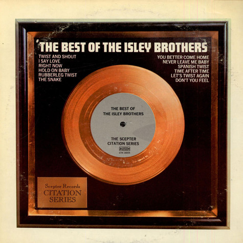 The Isley Brothers - The Best Of The Isley Brothers